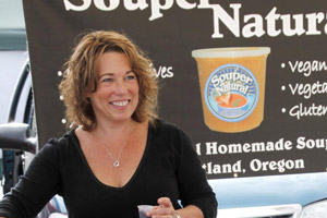 Heidi, owner of Souper Natural Soups and Sauces