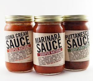 Souper Natural Red Sauces for Pasta and Easy Dinner Prep