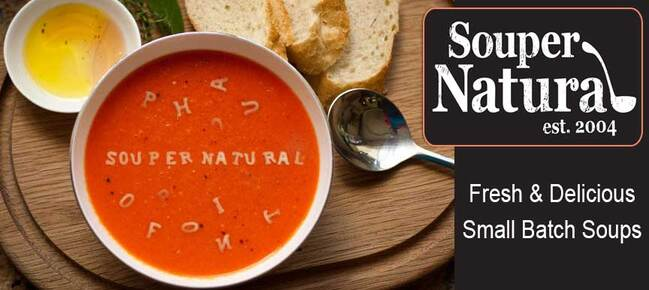 Souper Natural Soups and Sauces made in Portland, OR